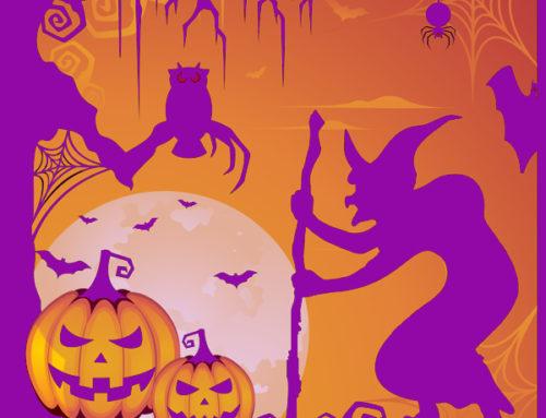 Pronta per le decorazioni di Halloween?