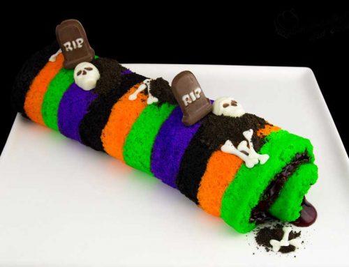 Halloween Cake Roll