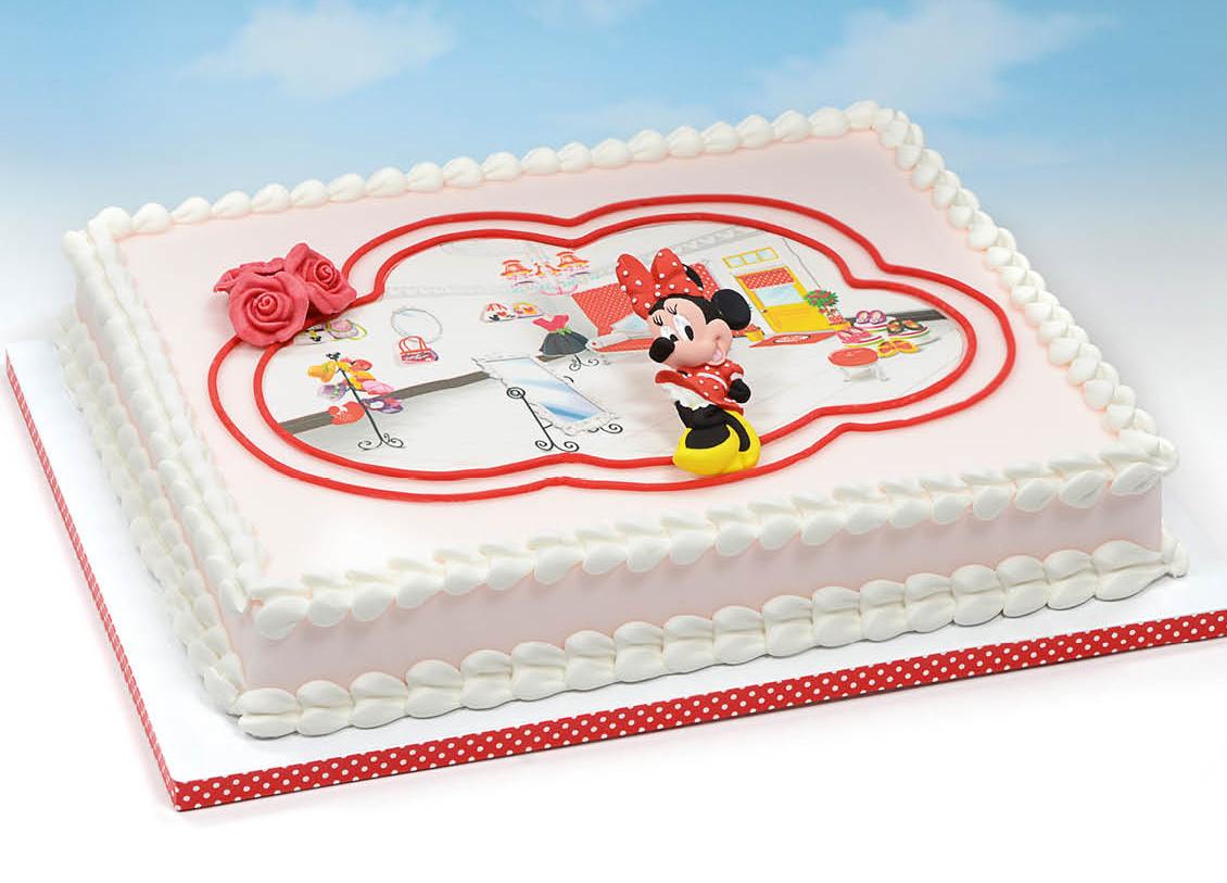 Inoltre le Cialde per torte Disney sono disponibili sia in Wafer che in  Pasta di zucchero e in tre forme diverse rotonde, rettangolari e sagomate.  Con